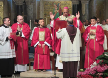 Carmelite friars Marc Bell & Floristan Guerrero also ordained