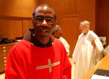 Deacon Richard Owens; his ordination for priesthood is set for June 7.