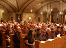 The Attending Friars and Postulants