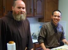 Br. Al and Postulant Andrew Corriente